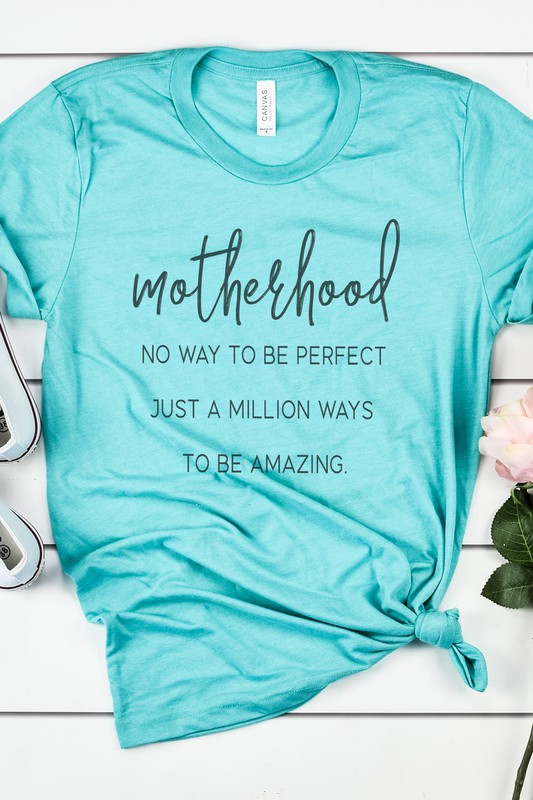 Mother tees bella canvas