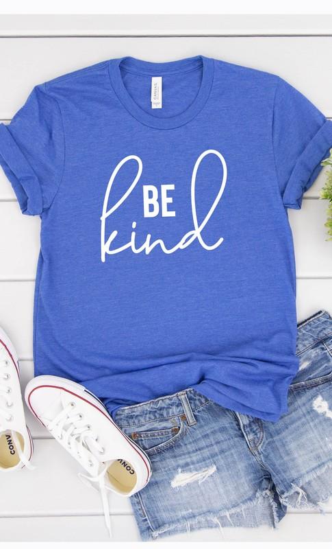 Be kin blue tee