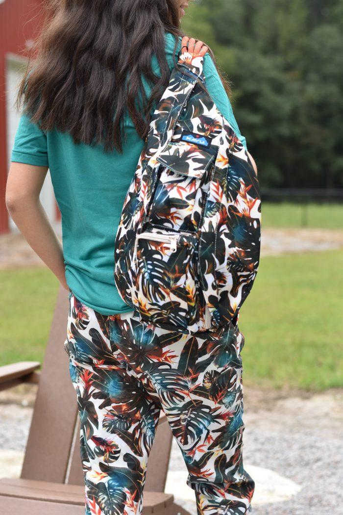 KAVU rope sling bag island canopy