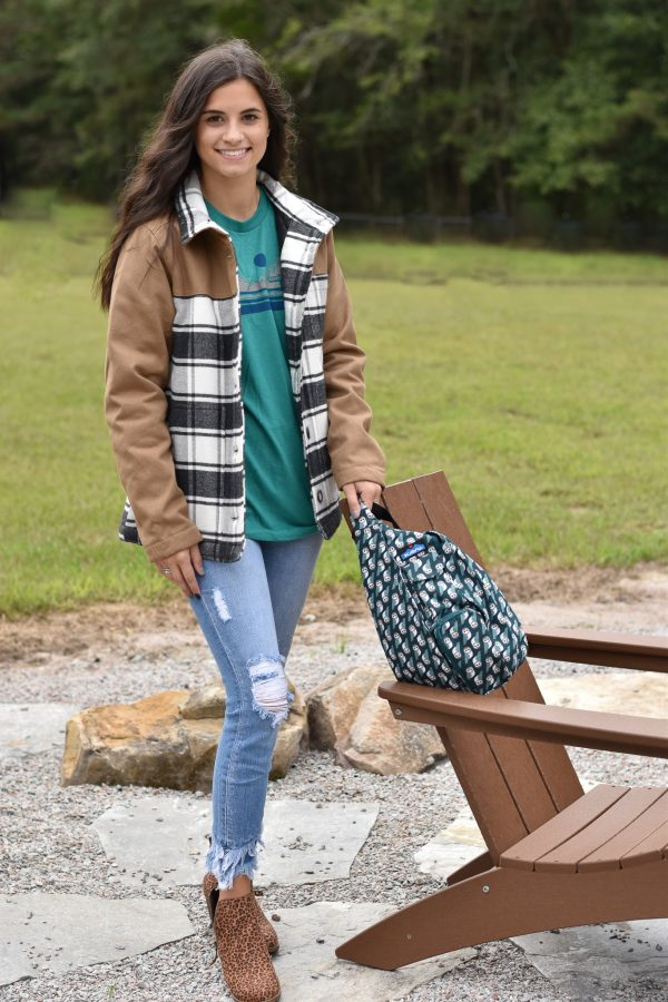 KAVU highlands jacket plaid flannel