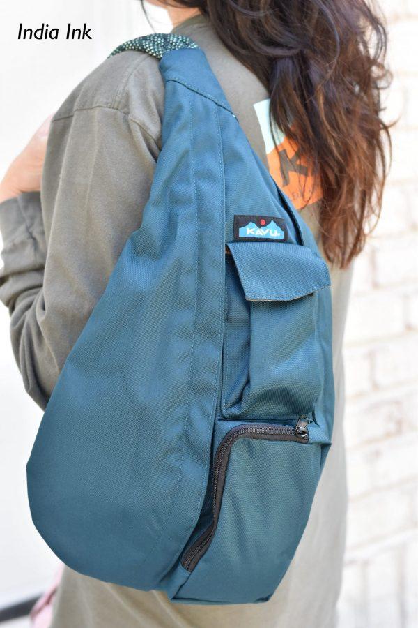 KAVU india ink rope bag crossbody sling fanny book bag