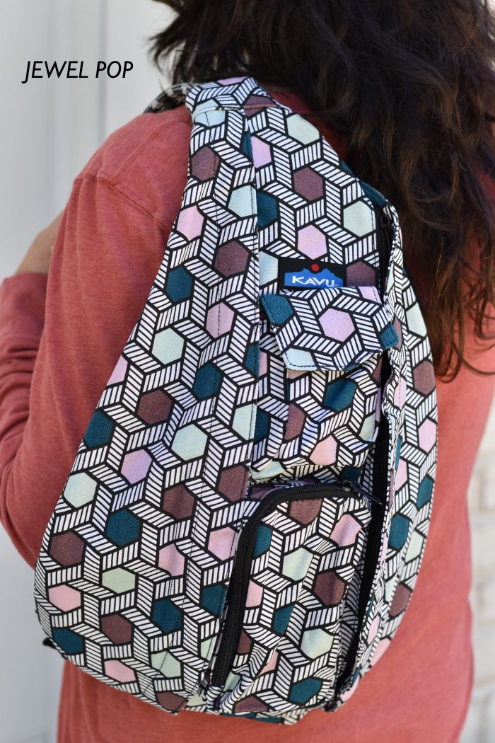multi colored kavu rope bag