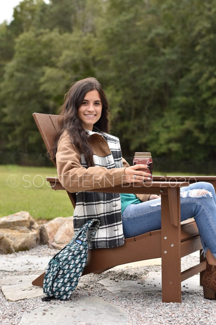 KAVU highlands jacket flannel checkered plaid coat