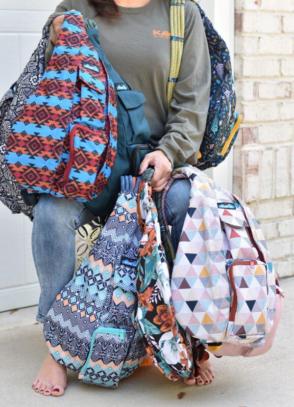 KAVU rope sling fall crossbody bags