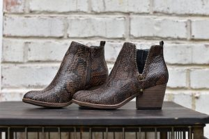 Corkys Tombstone Chocolate snake bootie