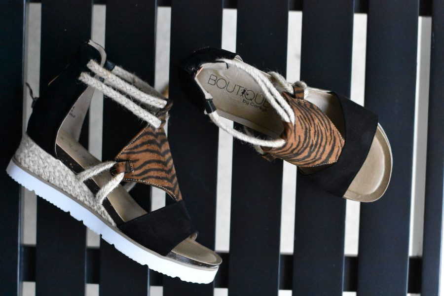 corkys browning sneaker sandal rope tiger shoe