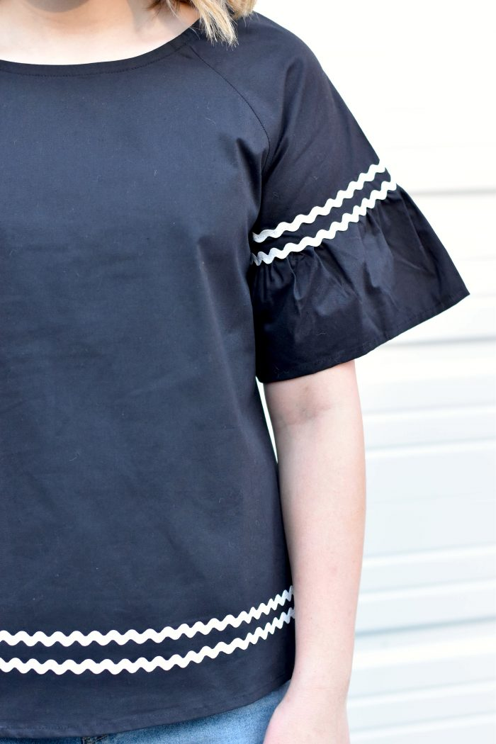rick rack blouse