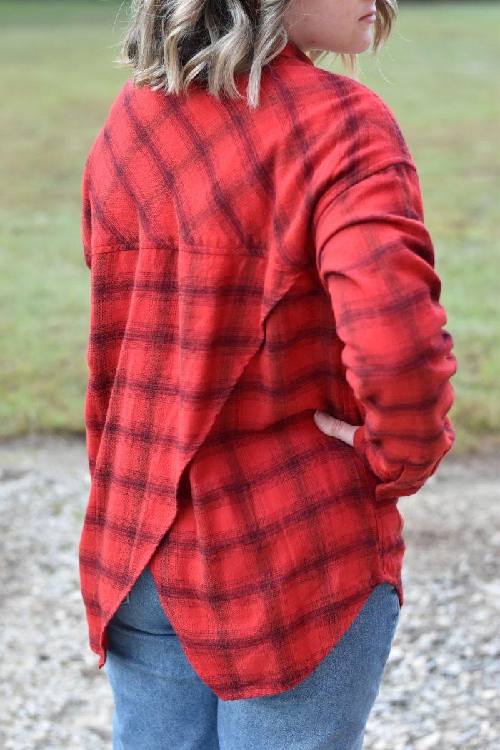 KAVU Hanna red flannel
