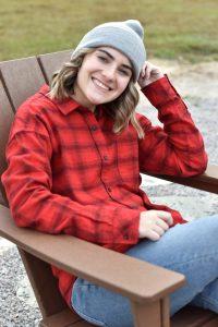 KAVU Hanna red flannel button down