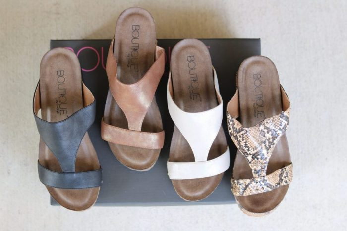 Funkytime wedges t strap