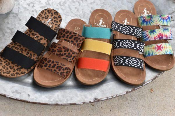Corkys dafne sandles elastic shoes summer
