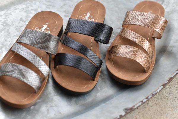 sandal women's shoes faux snake