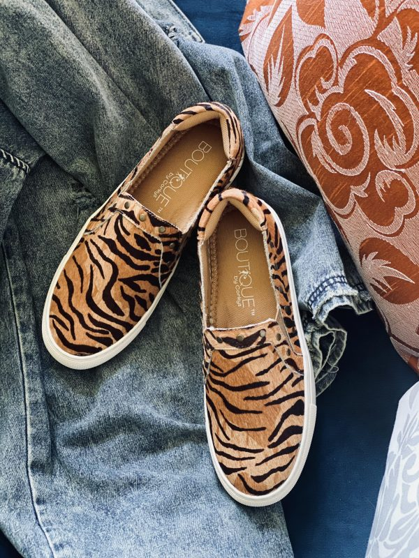 tiger print shoe clemson bengal football sneakers leather