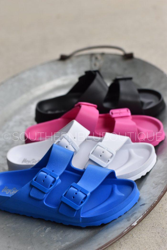water shoes Birkenstock slides crocs