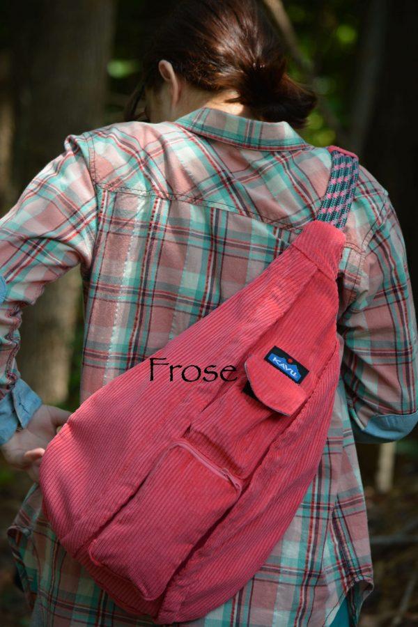 kavu prose rope pockets sling bag purse