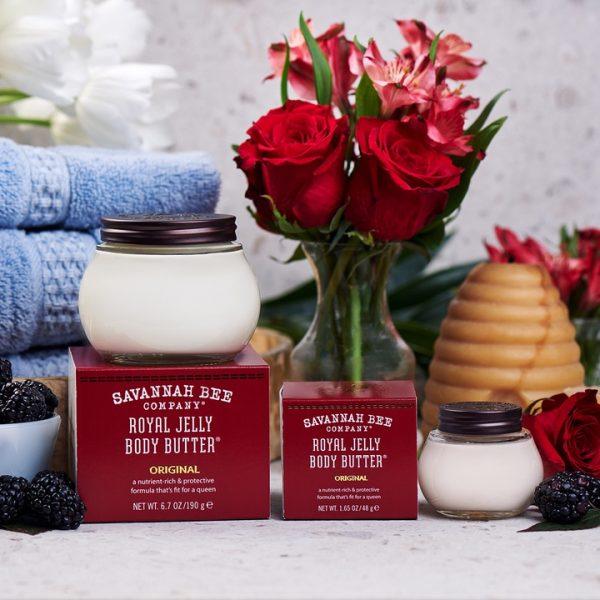 royal jelly lotion body cream savannah bee