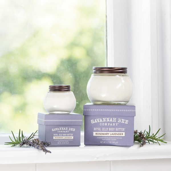 rosemary lavender body butter royal jelly lotion