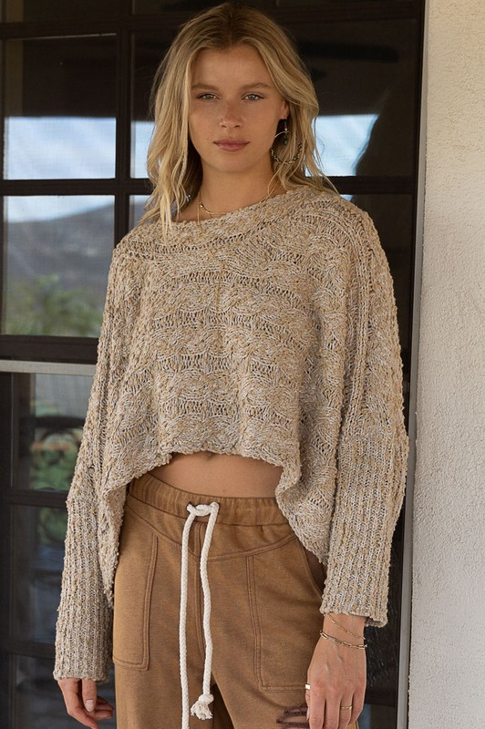 sweater cropped