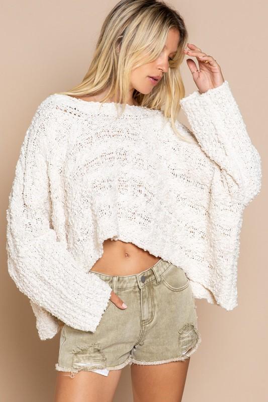 marshmellow sweater popcorn