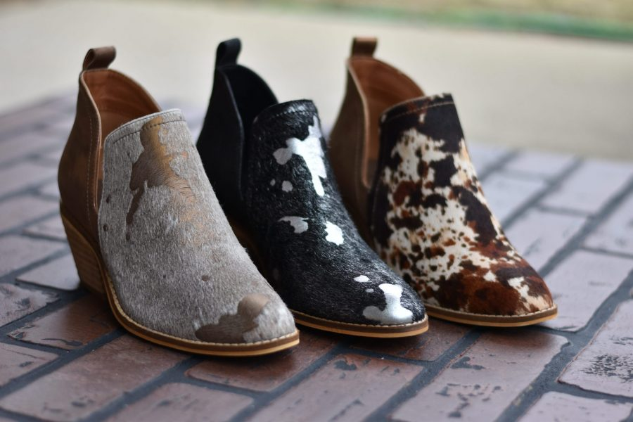 limitless cowhide boots