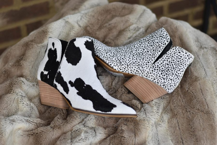 cowhide shoes boots cowgirl leopard cheeta leather fur