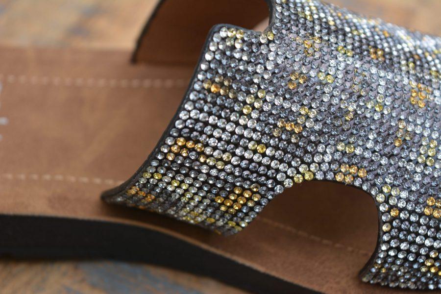 corkys elmwood glitter sequin shoe